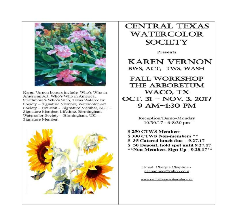 2017.CTWS.Fall.Workshop.Karen.Vernon1