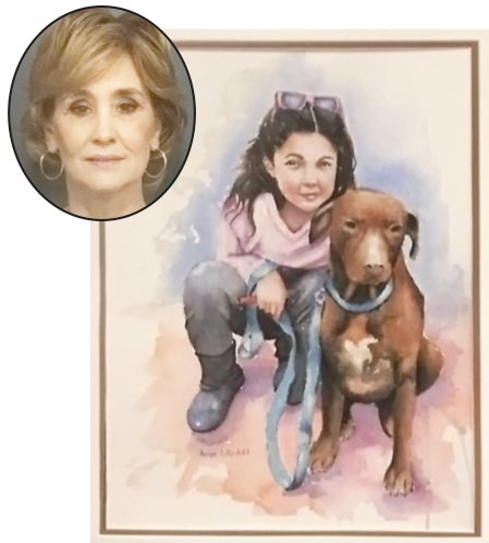 Angie Lilljedahl - Bailey and Her Dog.jpg